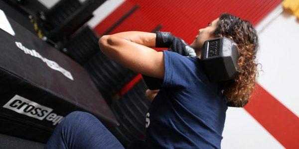 CrossFit Le Rouge WOD farmer carry squat push ups