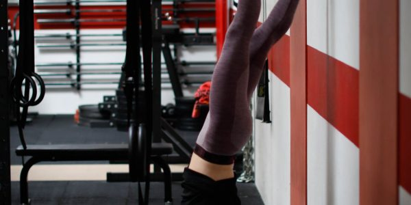 Hang Power Snatches Handstand Push-ups