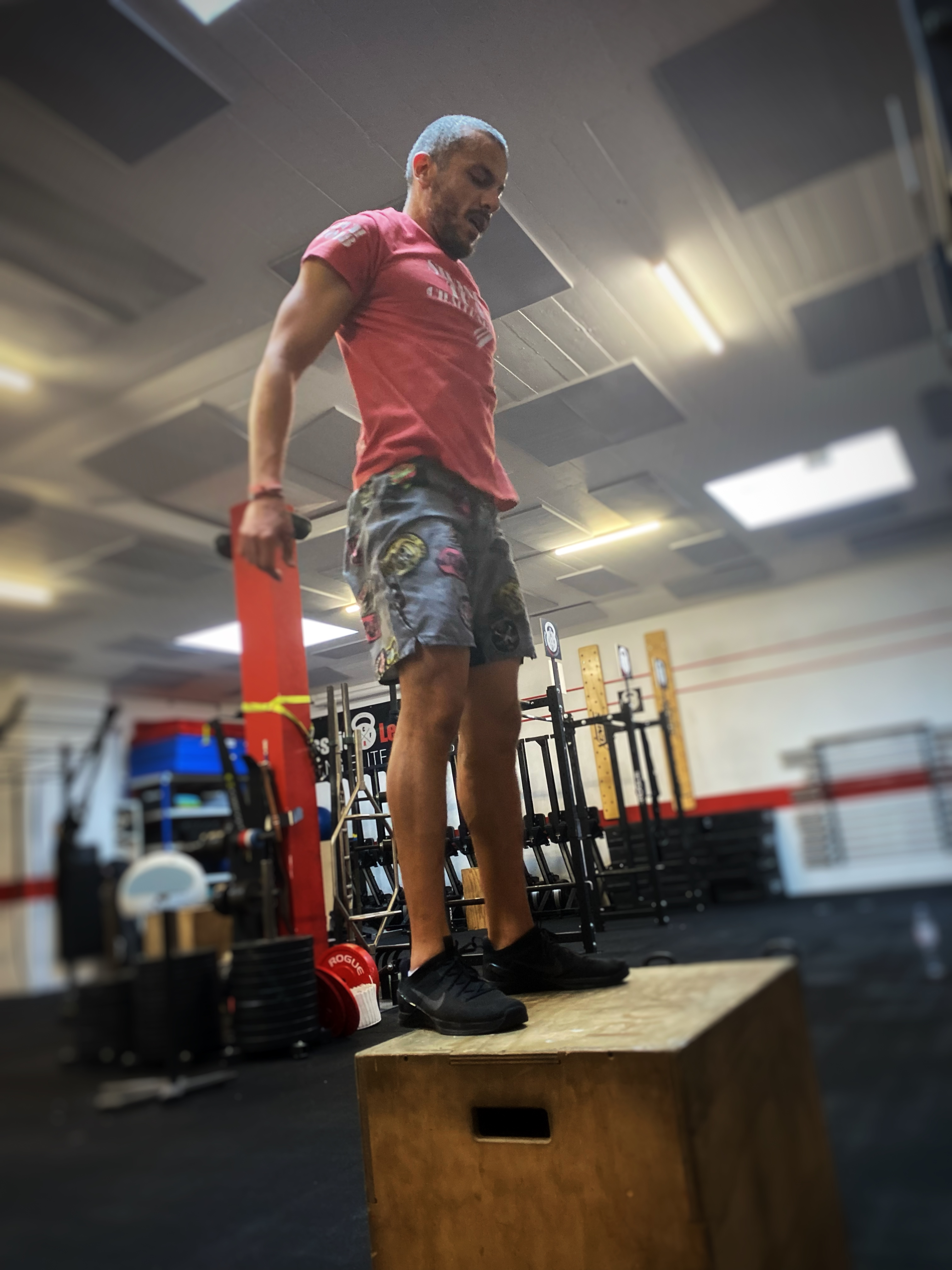 CrossFit team WOD handstand muscle-up weightlifting